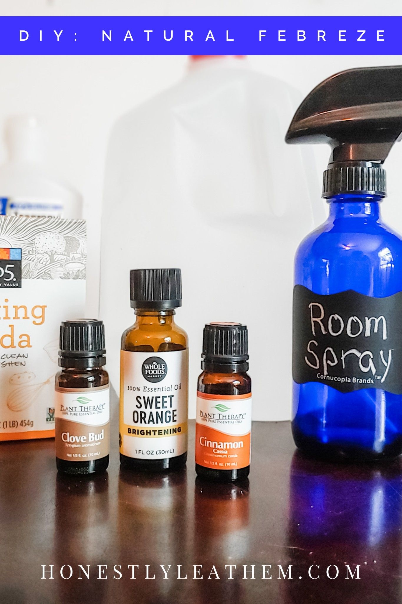 Diy natural room spray fabric refresher better than