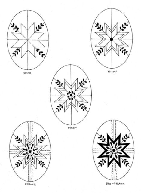 how to draw : pysanky (page 2) | Easter egg crafts, Easter ...