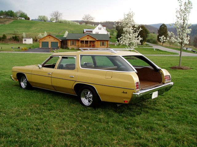 1973 Chevrolet Impala Station Wagon Station Wagon Chevrolet