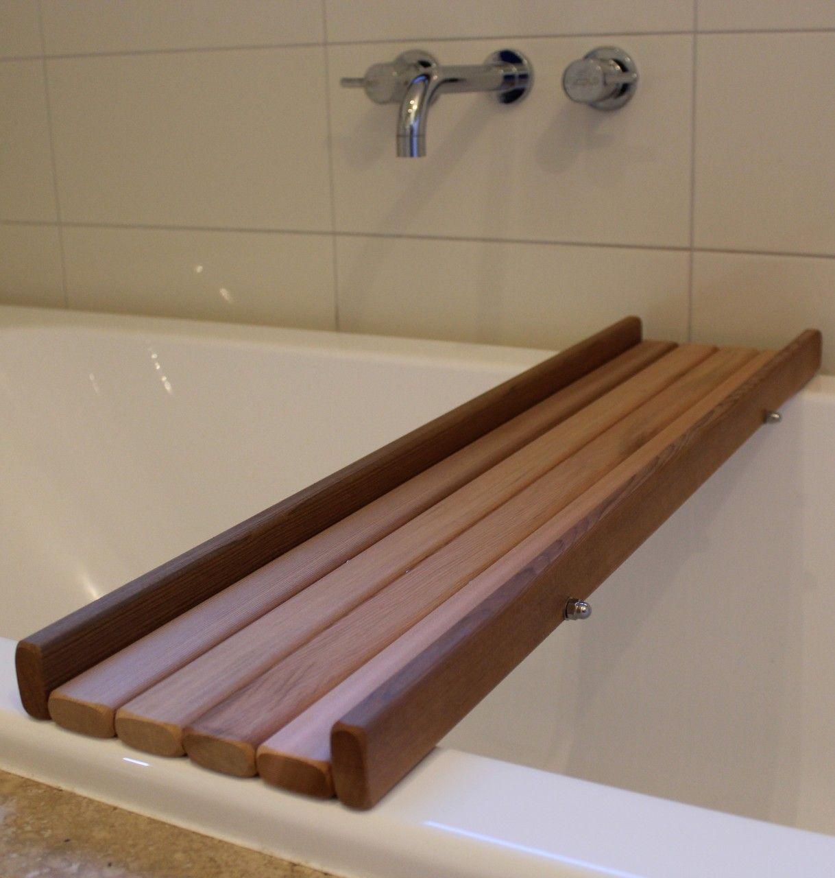 Cedar Bath Caddy   Bath caddy