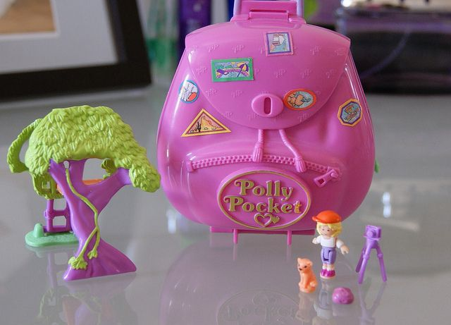 Polly pocket jungle adventure 1996