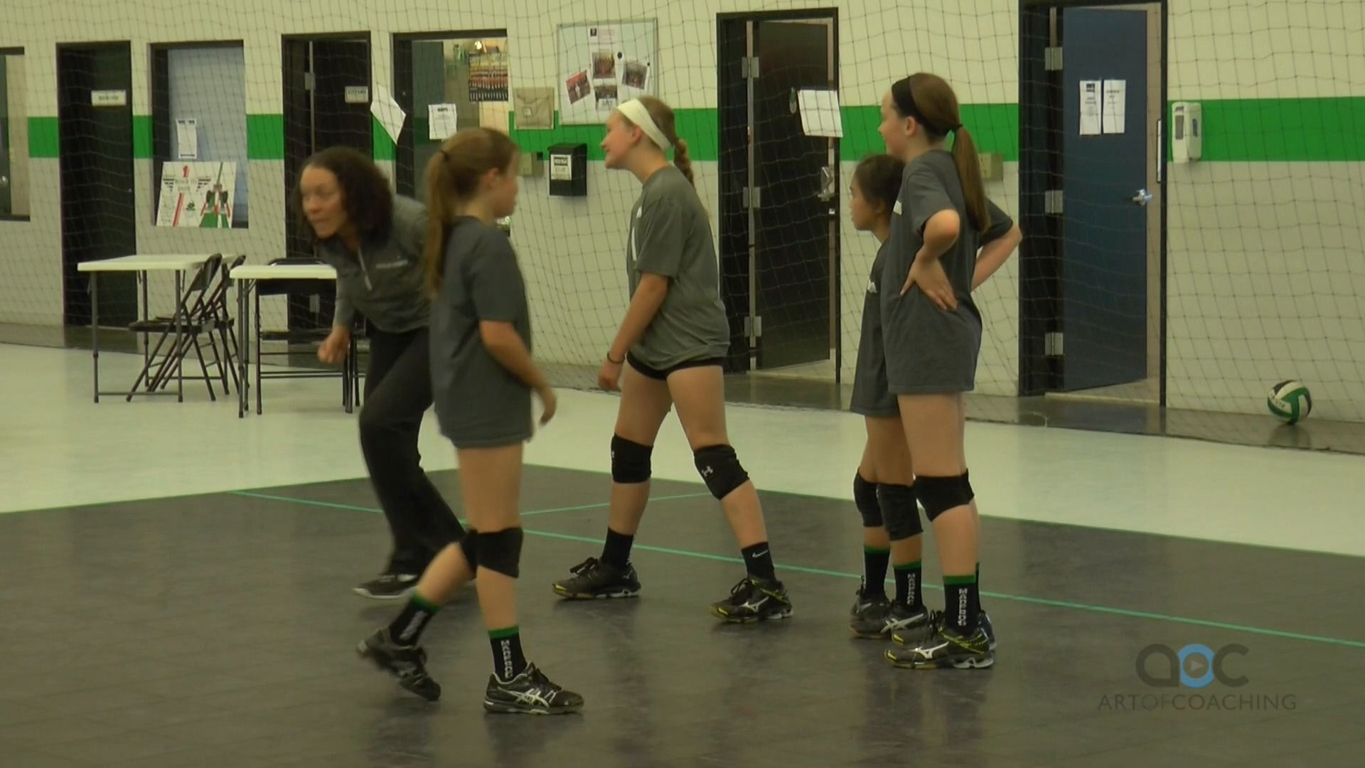 Youth Runthrough Drill With Stefanie Samuels Coaching Volleyball Drill Volleyball