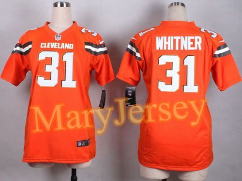 Nike Browns Jim Brown Orange Alternate Women's Stitched NFL New Elite Jersey  And Cowboys Dez Bryant 88 jersey