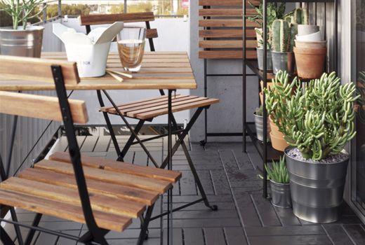 Mobili pranzo per esterni IKEA Tavolo da terrazzo, Sedie