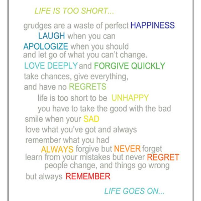 Life goes on...smiling when sad is tough!