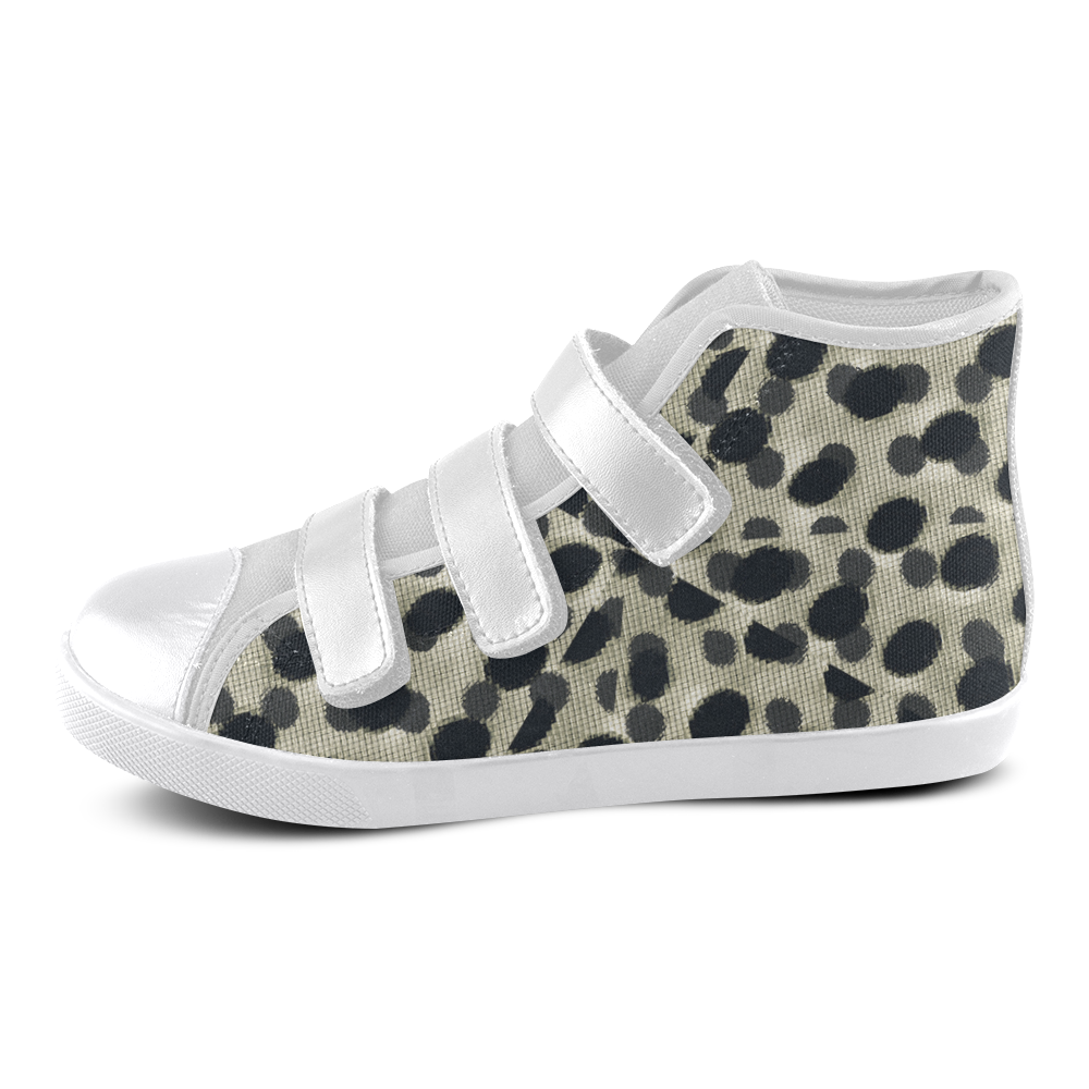 d2c20d14f9 Metallic Camouflage Velcro High Top Canvas Kids Shoes by  dflcprints and   artsadd