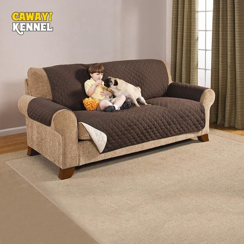 Awesome Cawayi Kennel Polyester Anti Grab Pet Dog Cat Sofa Couch Short Links Chair Design For Home Short Linksinfo