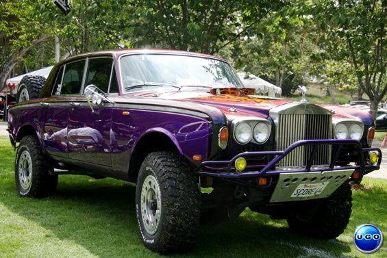 Off Road Rolls Royce