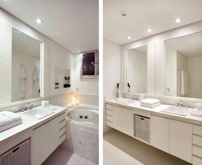 MANTÔ DECORANDO 10 REGRAS BÁSICAS DE ILUMINACAO  Sanca gesso  Pinterest  -> Iluminacao Banheiro Pequeno