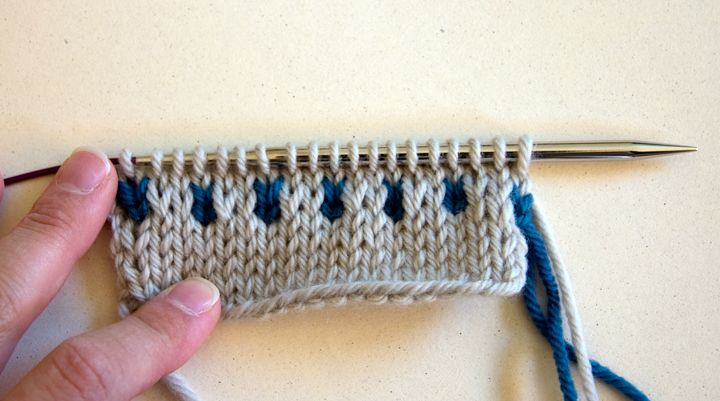 Knitting Techniques: Slip Stitch Colorwork Part I | Projects to Try ...