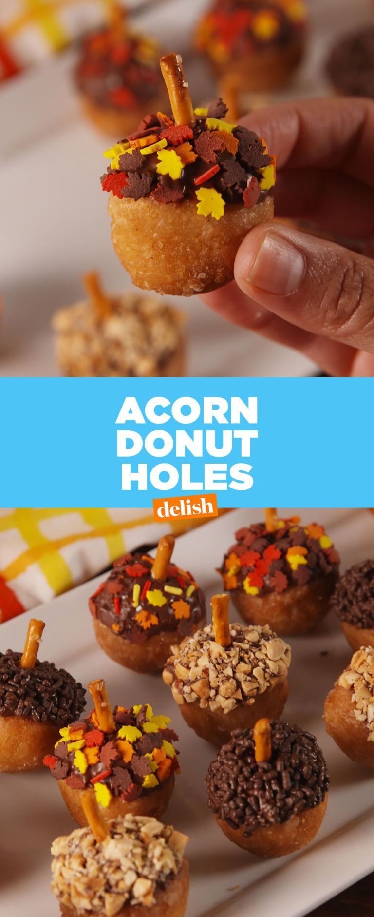These Acorn Donut Holes Win Fall With