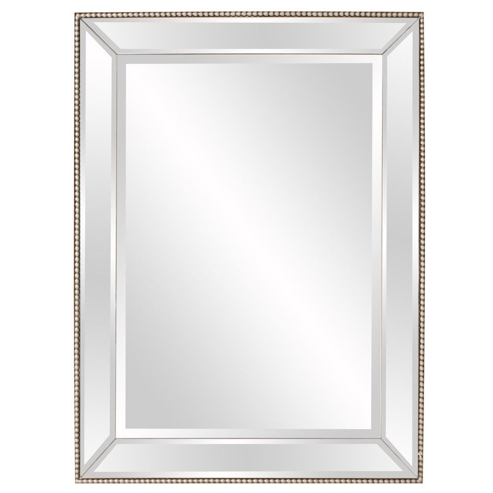 Howard Elliott Roberto Mirrored Mirror 36 X 48 X 3 Framed Mirror Wall Mirror Decor Mirror Wall 36 x 48 framed mirror
