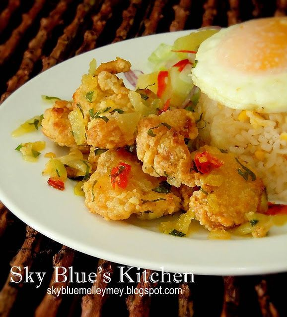 ✿ Sky Blue's Kitchen ✿: ~ Ayam Mentega Rangup...
