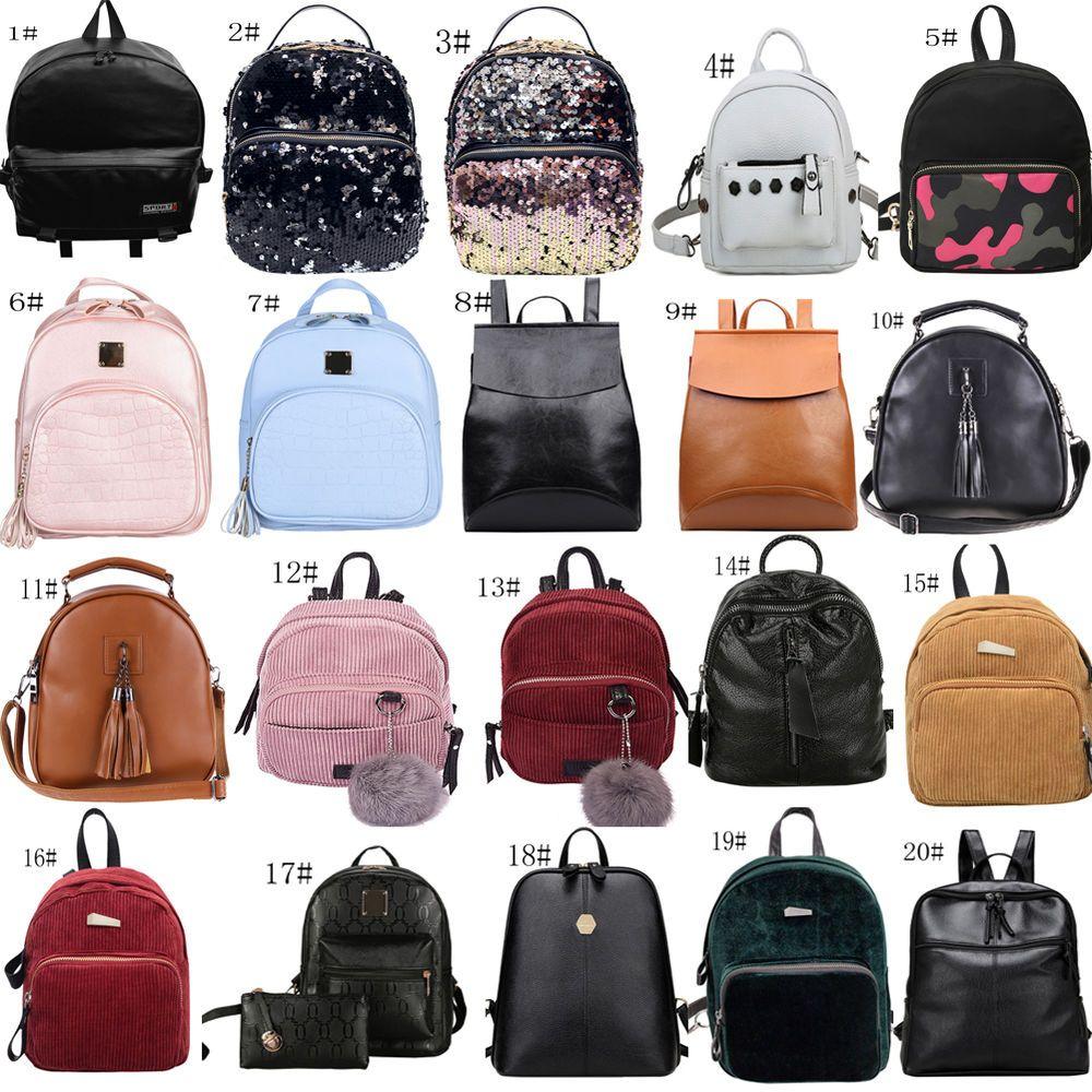 Women/'s New Backpack Travel PU Leather Handbag Rucksack Shoulder School Bag