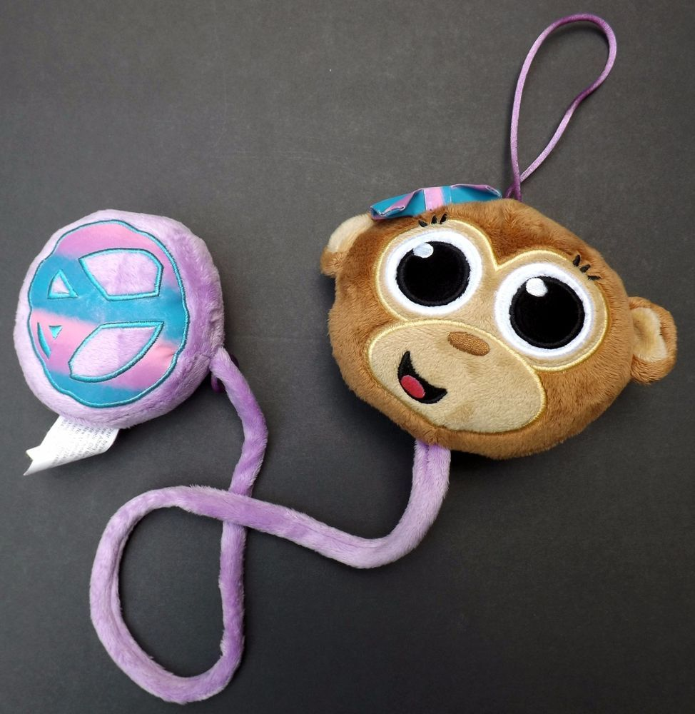 Girl s Justice Monkey   Peace Sign Toy Doorbell for Bedroom  Tween Brands    Justice. Girl s Justice Monkey   Peace Sign Toy Doorbell for Bedroom  Tween