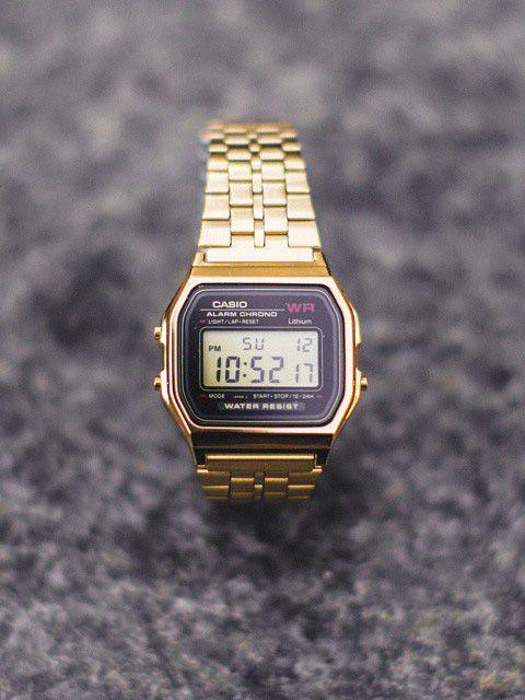 retro casio gold digital watch menswear details items retro casio gold digital watch menswear