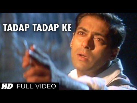 Tadap Tadap Ke Full Song Hum Dil De Chuke Sanam Salman Khan Aishwarya Rai Youtube Latest Bollywood Songs Romantic Songs Mp3 Song Download