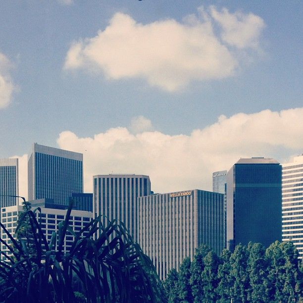 View of Century City from one of our Wilshire Tower guestrooms