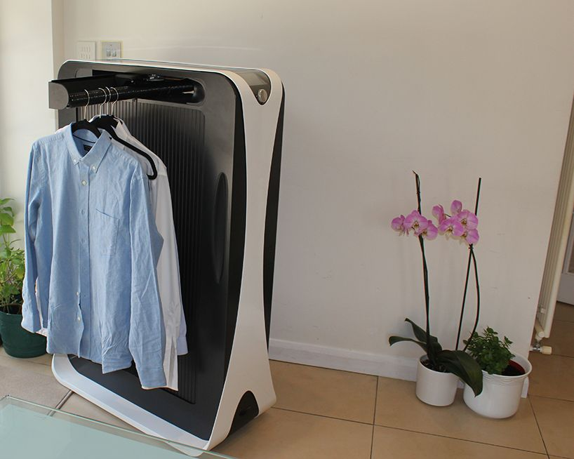 Meet Effie The World S First Domestic Automated Ironing Machine