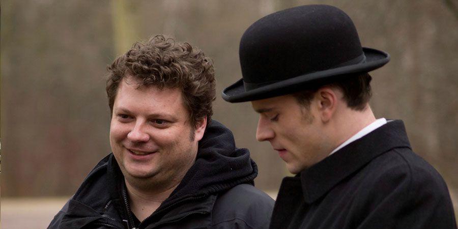 Regisseur Felix Fuchssteiner (links) am Set mit Florian Bartholomäi  © Meike Birck / Concorde Filmverleih 2013