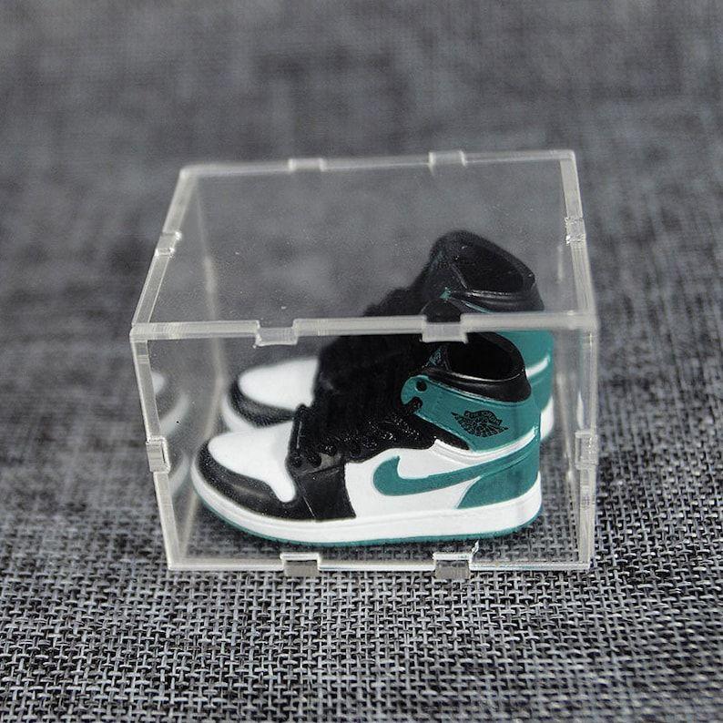 Handpainted Mini Sneaker Air Jordan 1 With Box | Etsy in 2021 ...