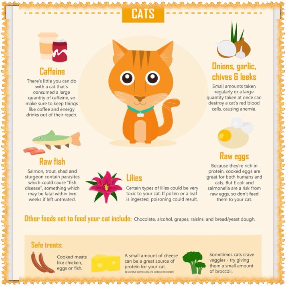 Toxic Foods Pets Your Pet Cats