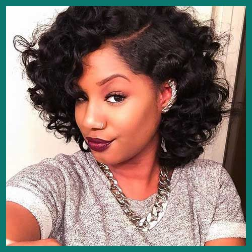 Cute Short Curly Bob Weave Hairstyles In 2020 Curly Hair Styles Curly Bob Hairstyles Brazilian Hair Weave