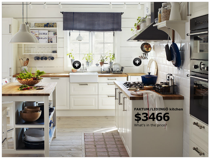 Ikea Faktum Lidingo Kitchen | Kitchen ideas | Pinterest | Kitchens ...