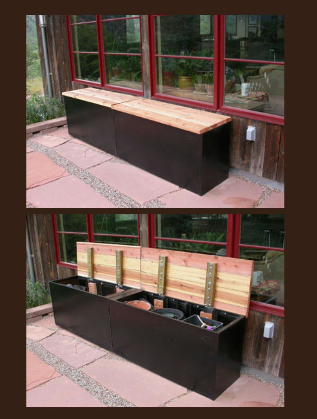 Storage Bench Made From Repurposed File Cabinet Filing Cabinet