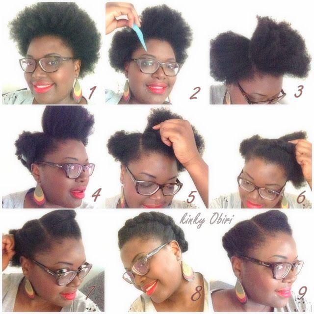 Idée coiffure simple Cheveux Afro et Beaux! Short hair