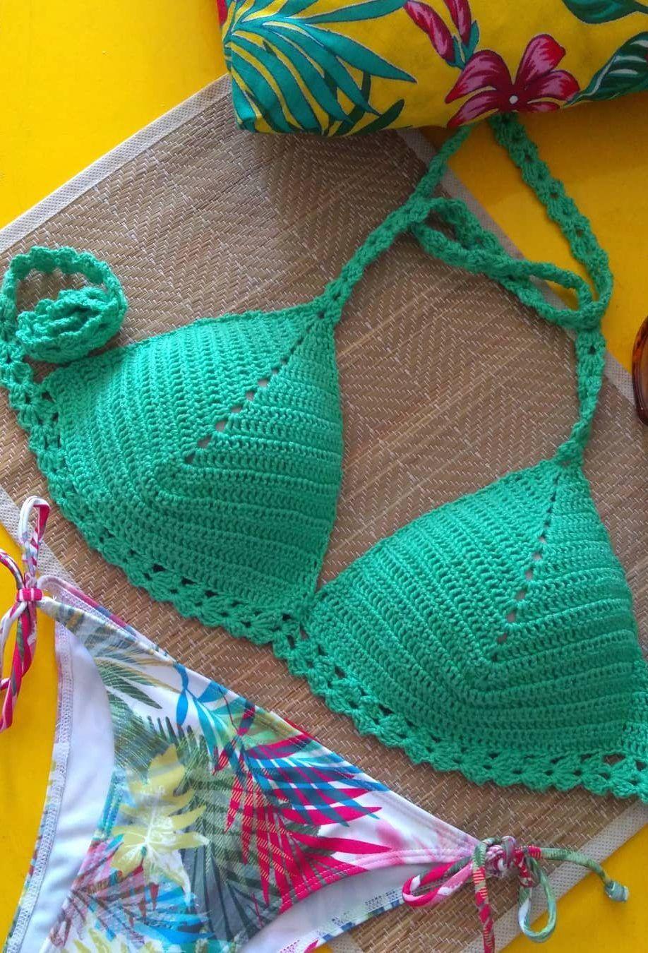 9575bf258b 40 patrones de bikini de ganchillo hermoso y bodacious gratis - Moda mujer  ! Vestidos A