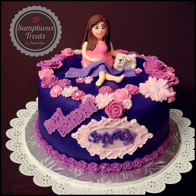 Preggos Sharon Happy Birthday Green Tea Matcha Cake CustomMadeTo