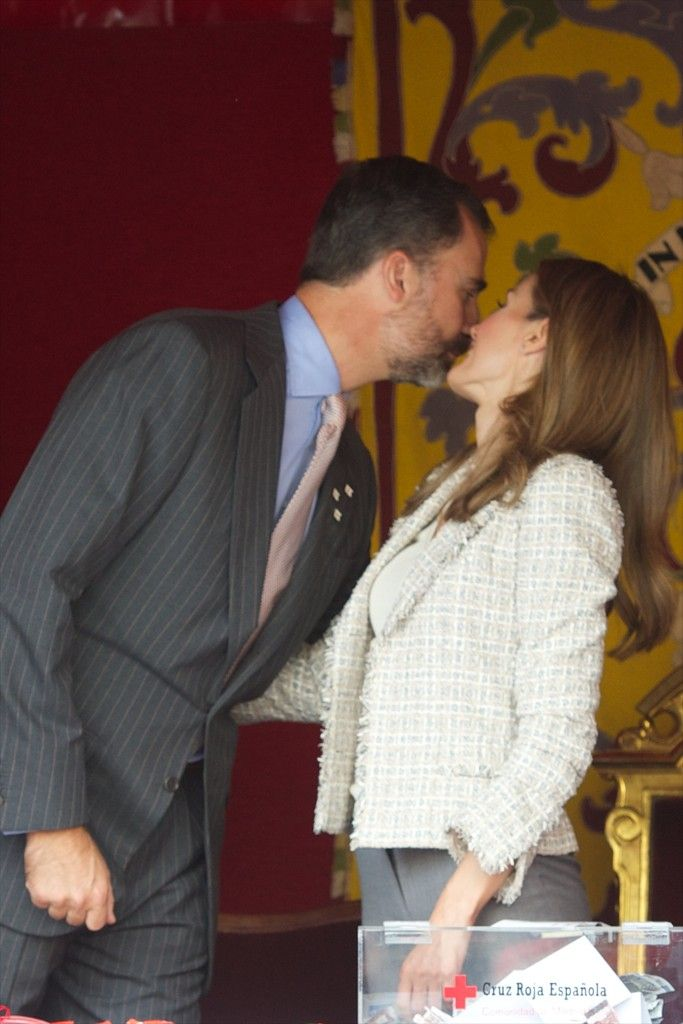 Princess Letizia - Spanish Royals Attend Red Cross Fundraising Day