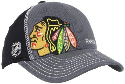 bf0fbd357e8c6 NHL Chicago Blackhawks Youth Flex Fit Draft Hat