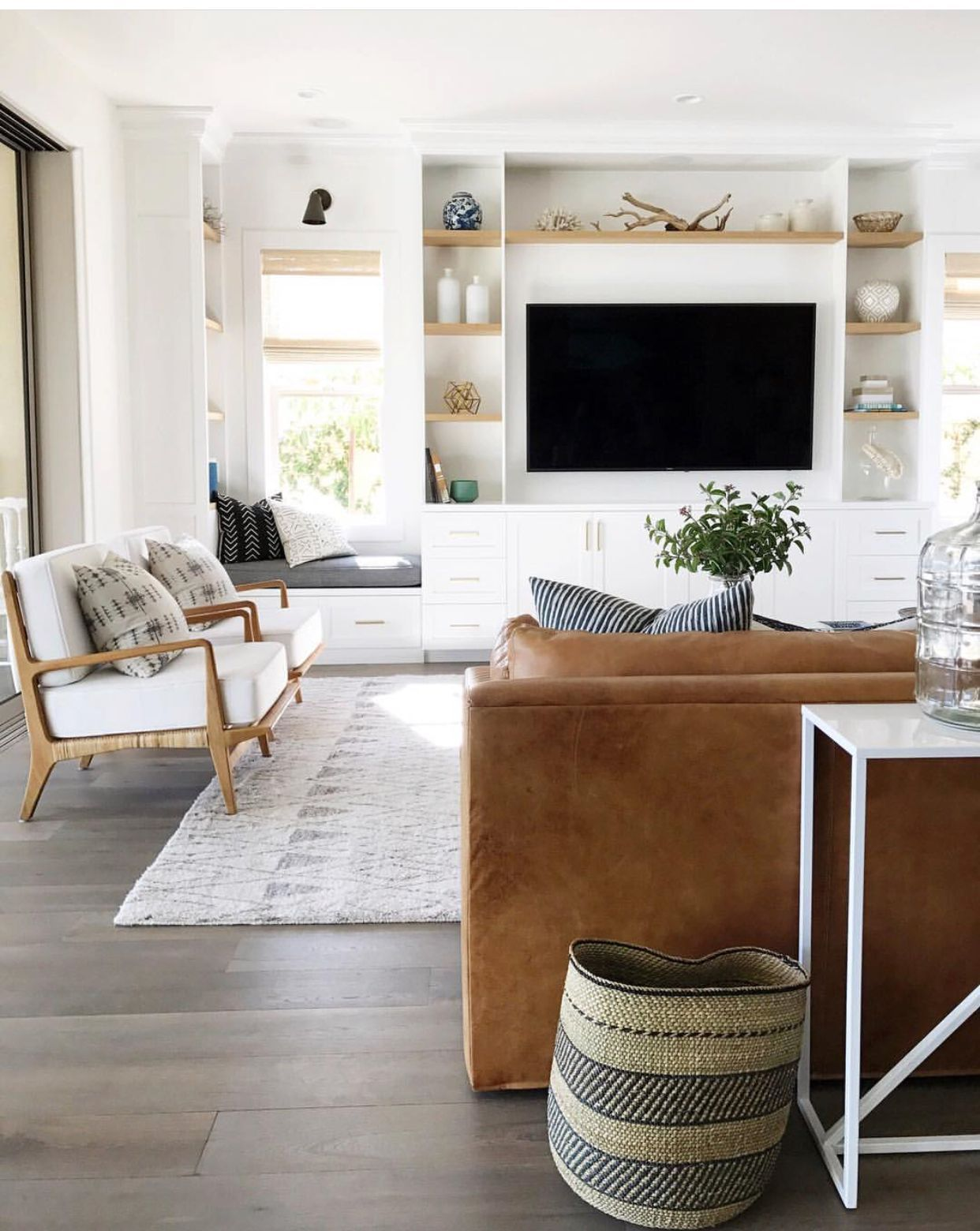 Leather Couch And Accent Chairs