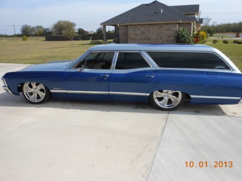 chevrolet bel air150210 resto mod wagon station wagon cars and bel air