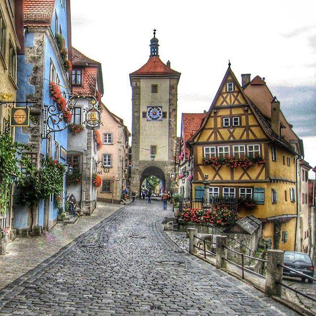 rothenburg ob der tauber germany ドイツ pinterest deutschland