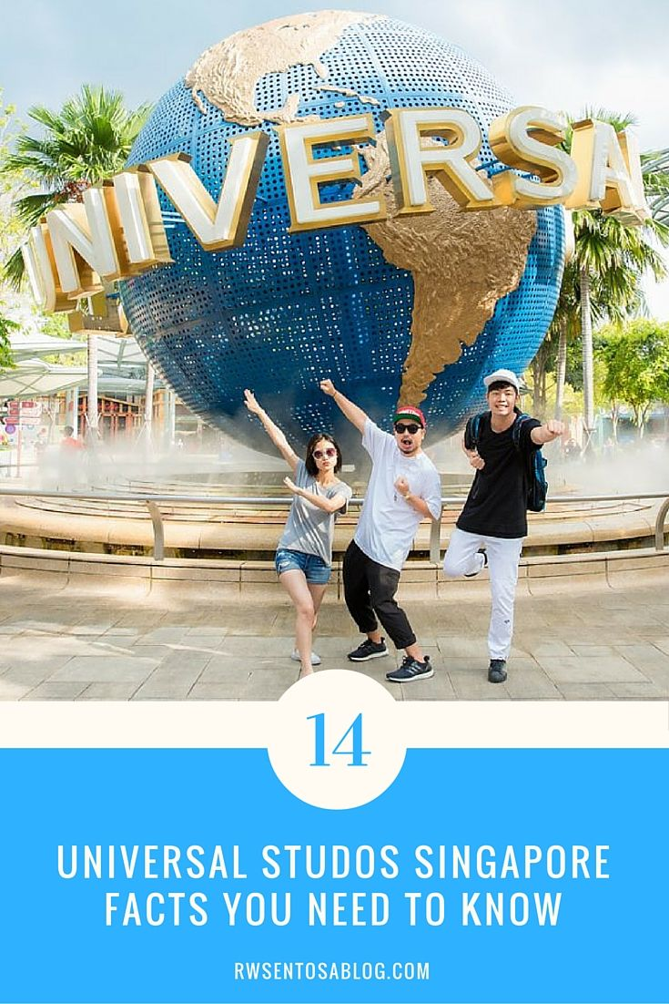 14 Facts About Universal Studios Singapore That Will Surprise You Read More On Resorts World Sentosa S Universal Studios Singapore Universal Studios Singapore