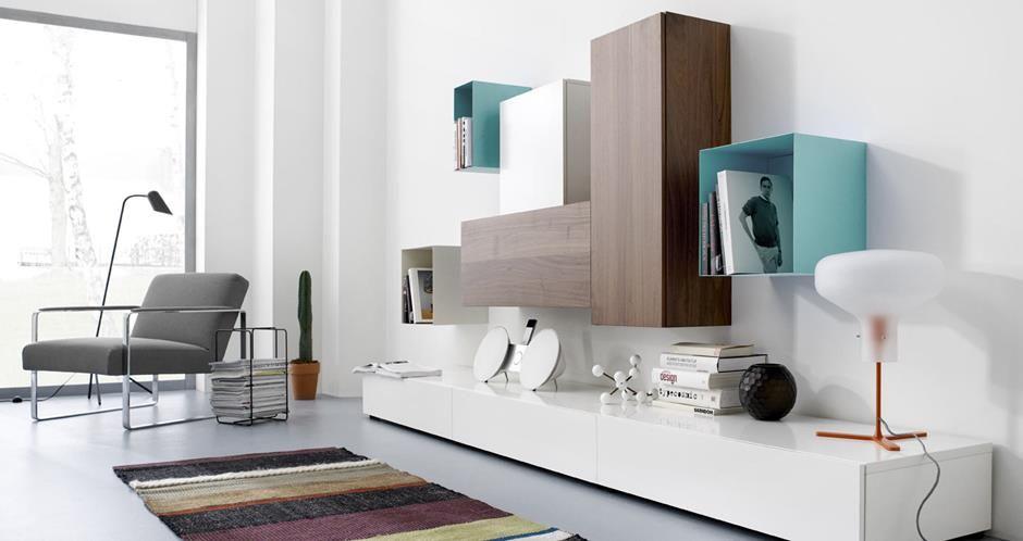 Moderne Aufbewahrungsmöbel von BoConcept® Garderobe Wohnwand - wohnwand dekorieren