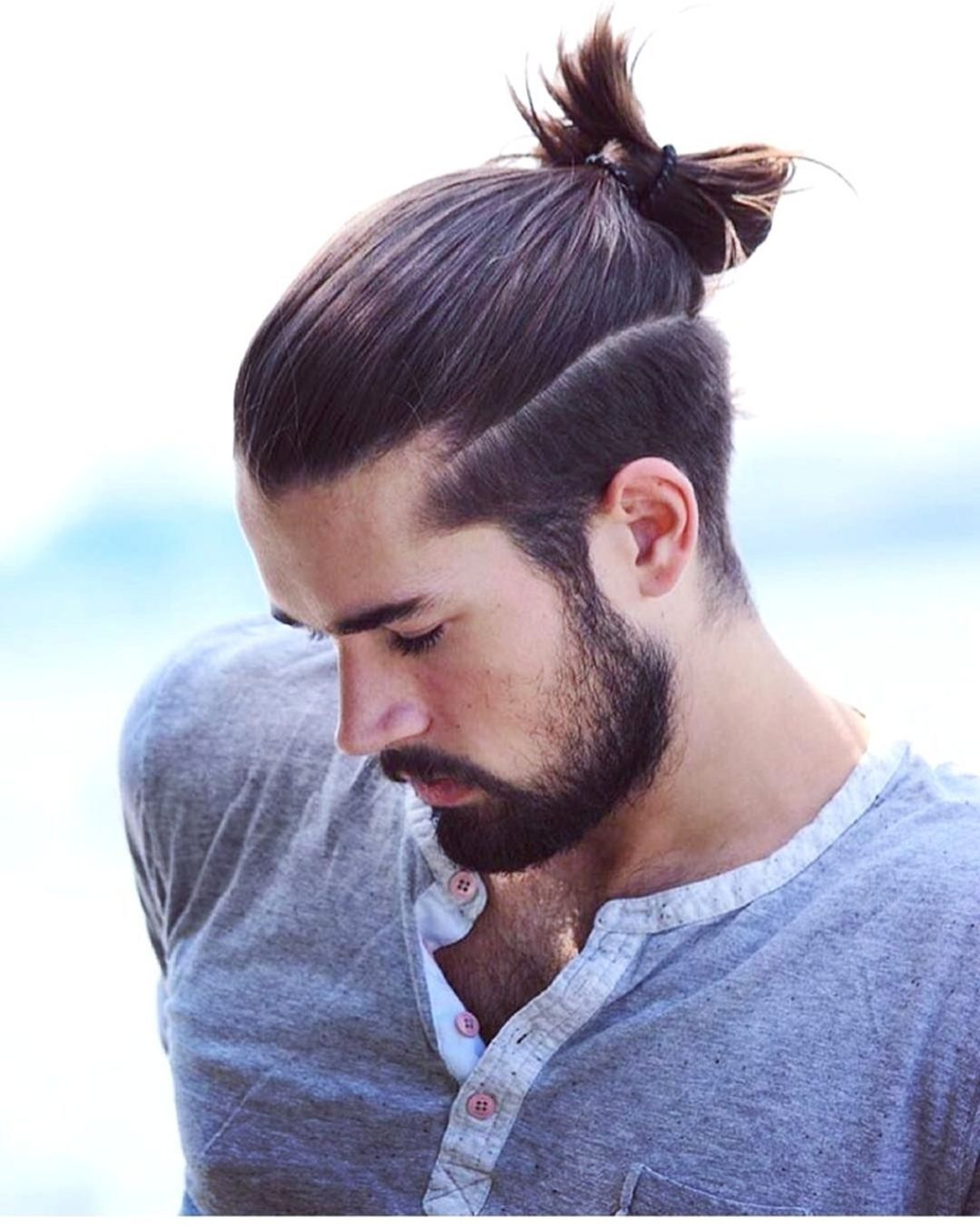 9 Awesome Man Bun Hairstyles That Can Make You Look Cool Fashions Nowadays Man Bun Hairstyles Long Hair Styles Men Man Bun Styles