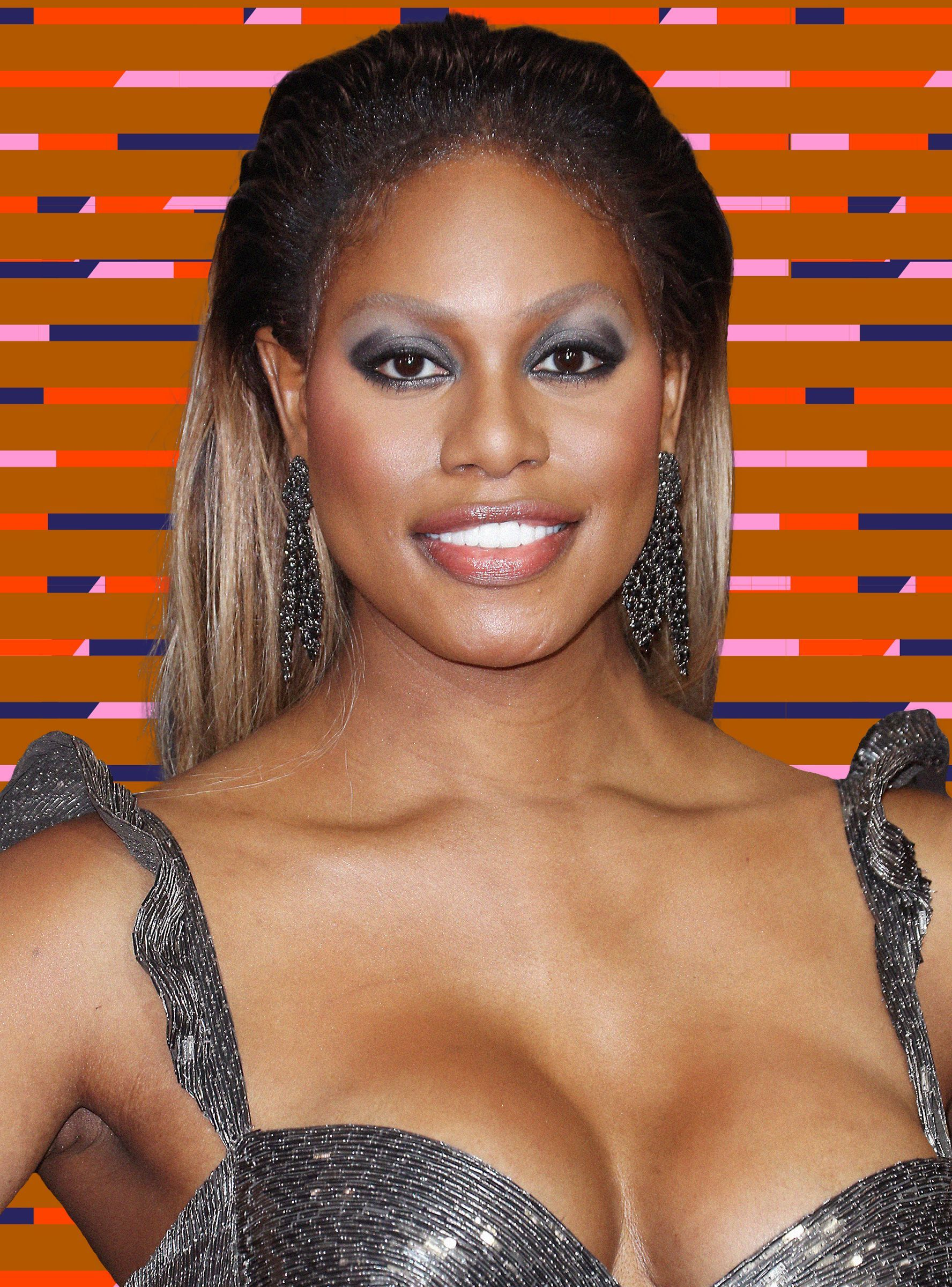 Laverne Cox Shimmies for Broadway Bares | L G B T News/Transgender ...