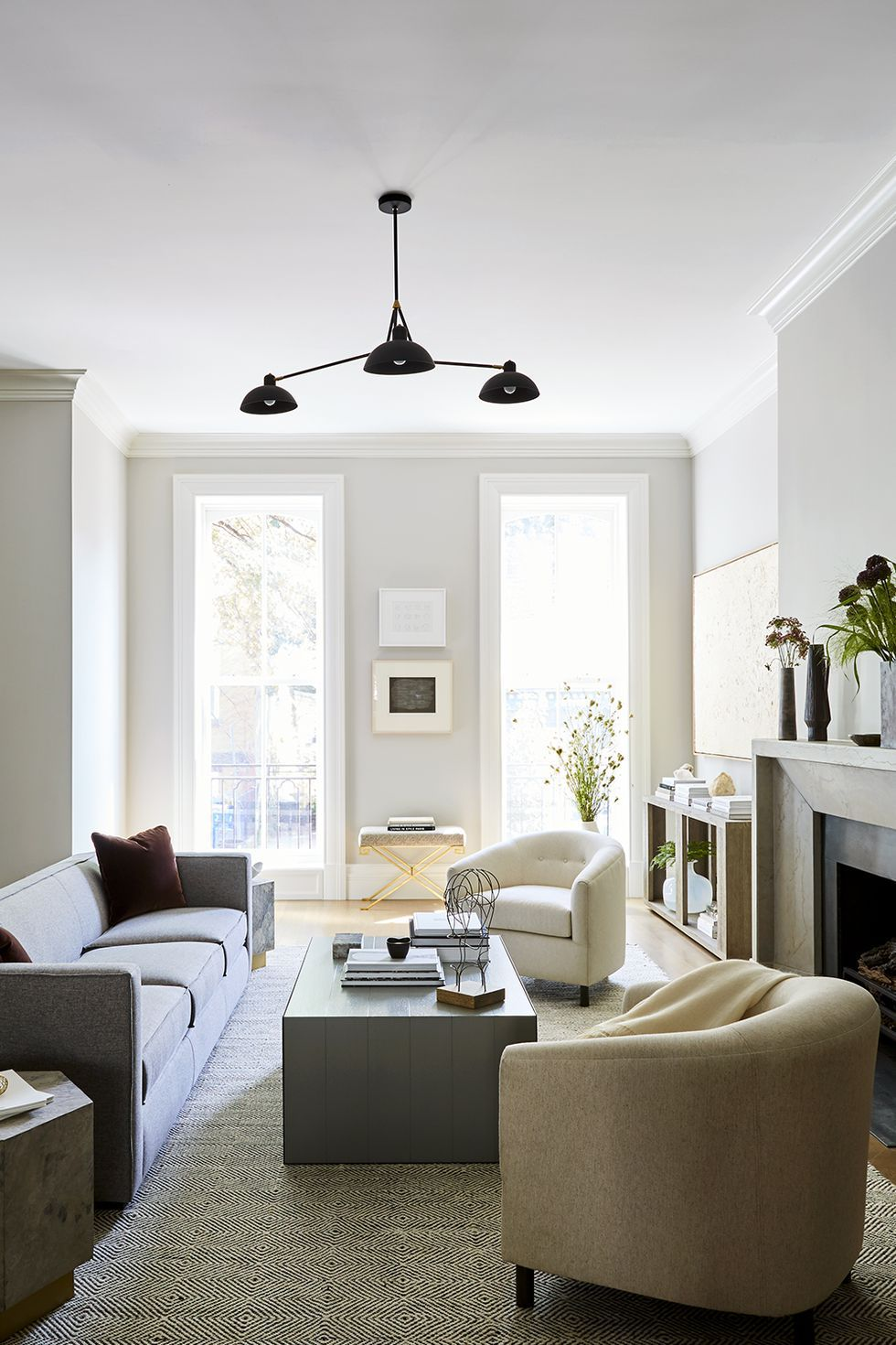 Inside a renovated spec home with an understated elegance lovely