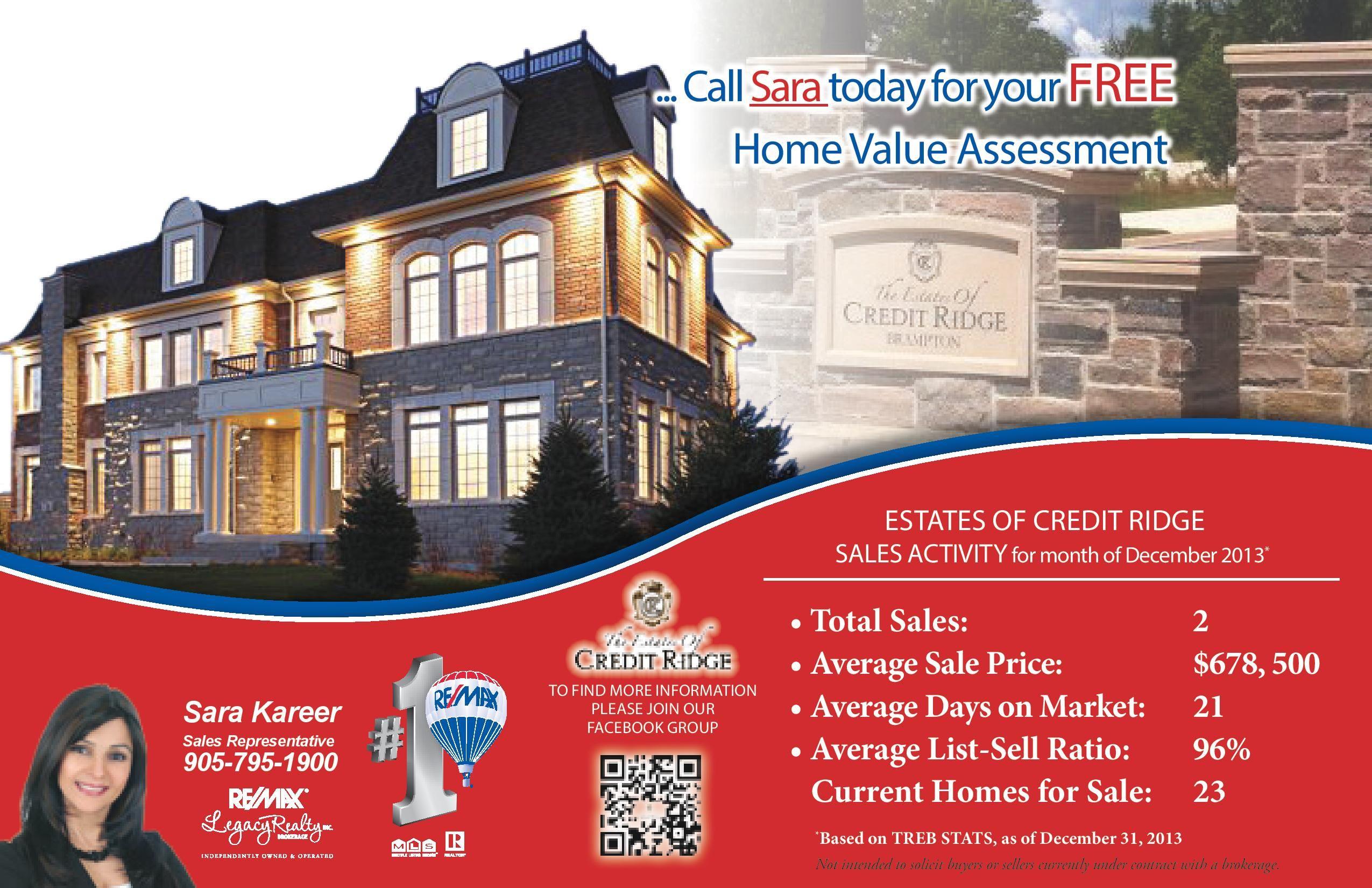 Homes For Sale Estates Of Credit Ridge Brampton December 2013 Brampton Estates Home Buying