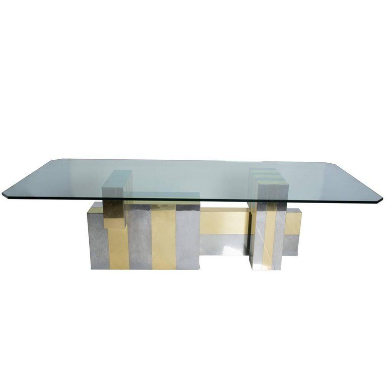Paul Evans Dining Table Dining Table Glass Dining Room Table