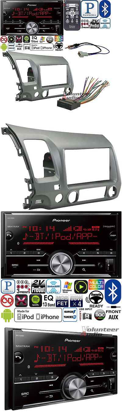 Car Audio In Dash Units Pioneer Double Din Media Player Radio