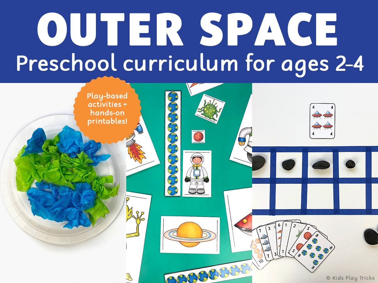 Preschool Outer Space
