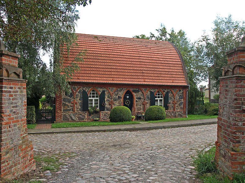 Fischerhaus in Wolfshagen, Uckermark, Brandenburg