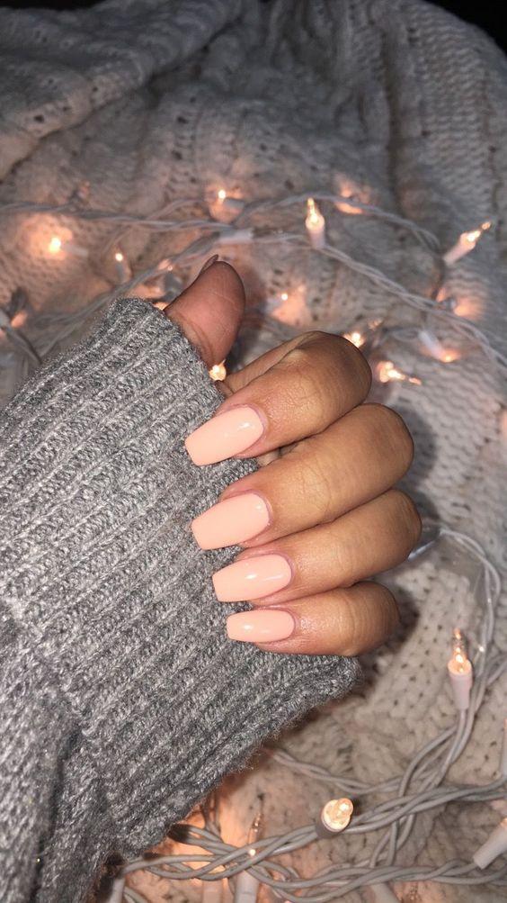 60 Pretty Acrylic Coffin Nails for Summer 2019 – Emma