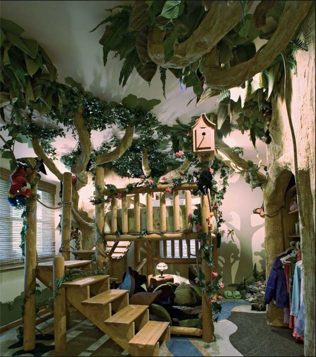 superb Jungle Theme Decorating Ideas : Interior ...