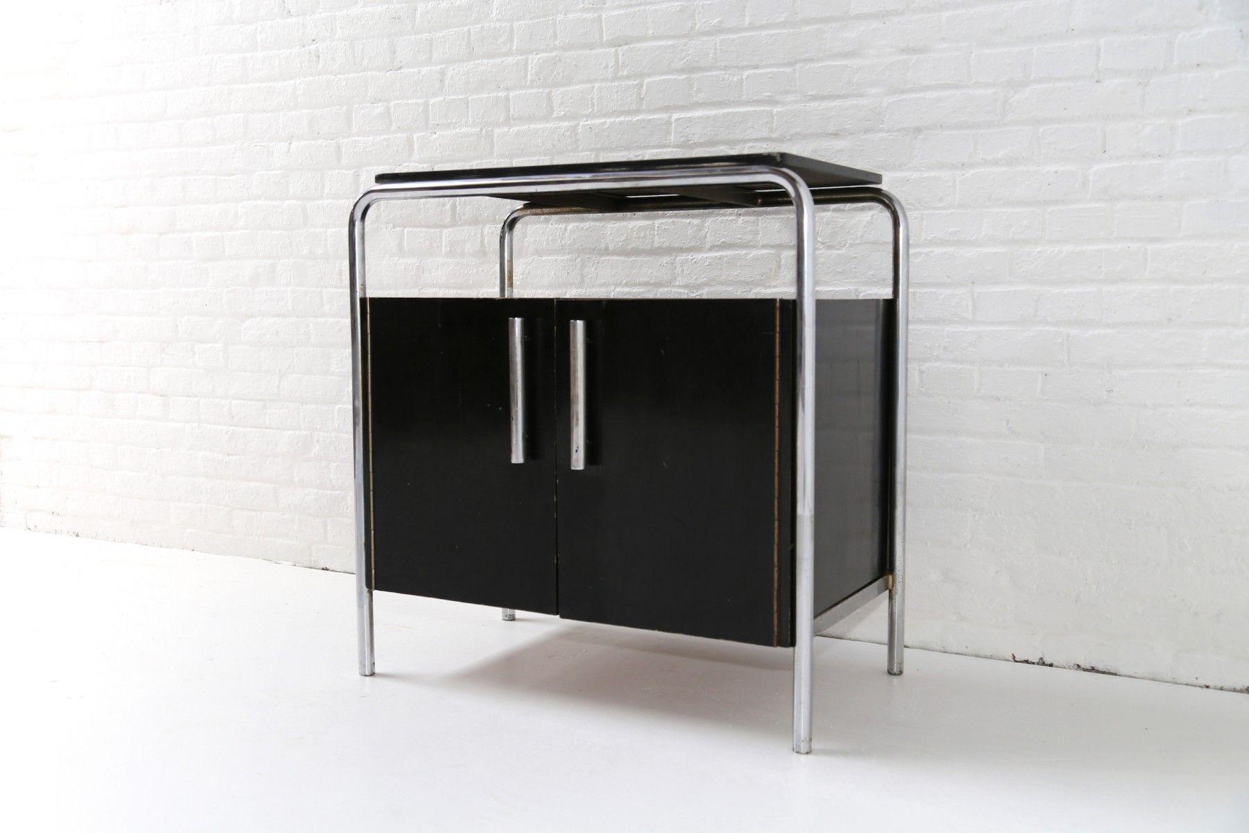 Vintage Bauhaus Cabinet By Bruno Weil For Thonet 1932 Cabinets  # Muebles Bauhaus Caracteristicas